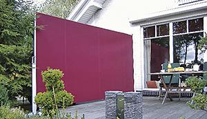 markisen f r seitlichen und vorderen sonnenschutz nova h ppe. Black Bedroom Furniture Sets. Home Design Ideas